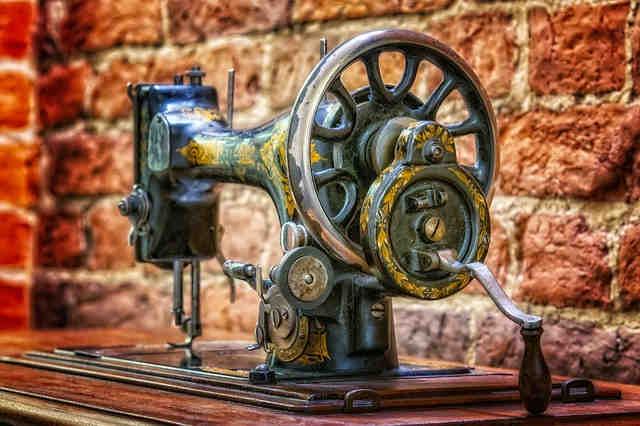 máquina de coser, Singer, cuento yiddish, sastre